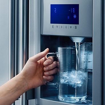 Frigoríficos americanos con dispensador de agua y hielo